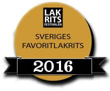Årets fem finalister i Sveriges Favoritlakrits