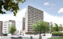 Strängbetong levererar TermoDeck till kvarteret Gladan 2 & 8, lågenergihus i Stadshagen