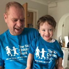 Devoted grandfather taking on marathon challenge to raise money for The Sick Children's Trust