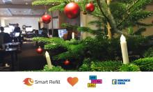 Smart Refill ger årets julklapp till Barncancerfonden och Min Stora Dag