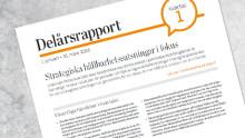 Akademiska Hus delårsrapport 1 januari – 31 mars 2018