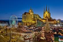 I DEN SØTE JULETID: Erfurts 166. julemarked