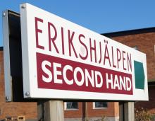 Erikshjälpen söker volontärer till ny butik i Borlänge