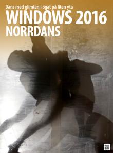 Norrdans traditionella Windows-föreställning för 18:e året