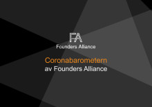Resultat Coronabarometern av Founders Alliance 22 mars