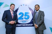 25 jaar samenwerking tussen TCS en KLM maakt de luchtvaartmaatschappij tot een van de beste op het gebied van klantenservice