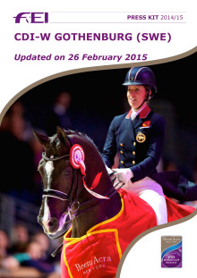 Reem Acra FEI World Cup Dressage - Press kit