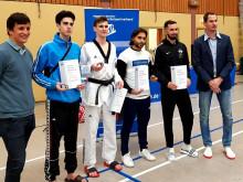 Emrecan Kasapci, Student der Physiotherapie (B.Sc.) qualifiziert sich bei der Deutschen Hochschulmeisterschaft im Taekwondo