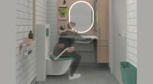 Innovativ baderomsløsning for sykehjem