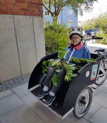 Glädje och frihet med cykel på Björkgården