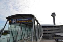 Nytt system visar vägen till Stockholm Arlanda Airports närmaste parkeringsplats