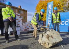 Mimer och NCC rockade igång bygget av Lindaren i Västerås