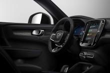 Elektriska Volvo XC40 introducerar nytt infotainmentsystem från Android med inbyggd Google-teknik