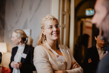 Grundare Sara Damber tillbaka som styrelseordförande i stiftelsen Friends