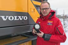 Provkörning och premiärvisning av Volvo Dig Assist under Rally Sweden