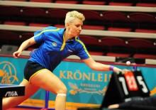 EM-kval mot Belgien, bordtennislandslaget damer
