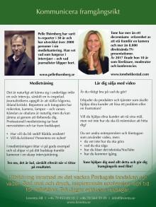 Tone Bekkestad och Pelle Thörnberg