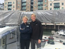 Pip Hare announces co-skipper for Transat Jacques Vabre race