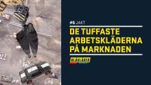 OM BLÅKLÄDER HÖLL PÅ MED JAKT..