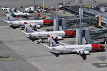 ​​Almost all domestic flights in Scandinavia are cancelled on Saturday