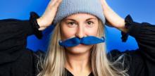 Butterick's stödjer Mustaschkampen 2018