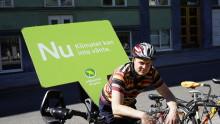 MP: Dags att göra cykel till en del av kollektivtrafikresan