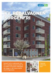 Informationsblad kvarteret Pedalvagnen