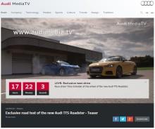 Audi MediaTV:  Følg med LIVE på Paris Motor Show!