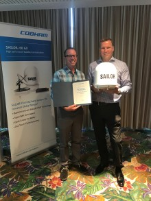 Cobham SATCOM: Cobham Delivers 50,000th SAILOR FleetBroadband Terminal