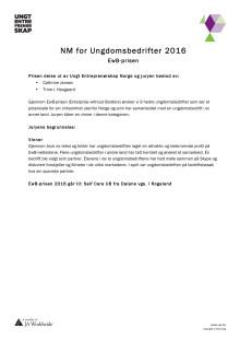 Fakta Ungt Entreprenørskap Rogaland