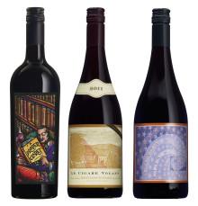 Trio viner från Bonny Doon Vineyards på Systembolaget.