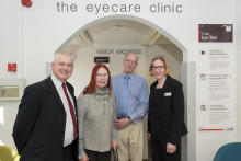 Cheers! Ex-publicans toast Vision Express for helping restore their sight