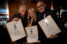 Kända ansikten bland pristagarna av Årets byggnadsvårdare
