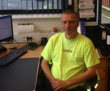 Kørselsleder i Bygma Aabenraa har 25 års jubilæum
