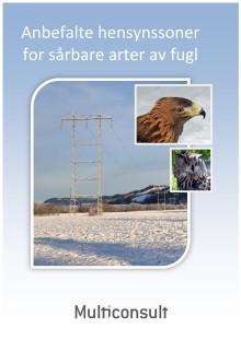 Anbefalte hensynsoner for sårbare arter av fugl