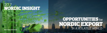 "Nordic Insight 2017 Seminar   -  ""Opportunities for Nordic Export in a volatile world"""