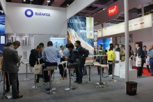 Bluewater water purifiers prove top attraction at the Shanghai China International Import Expo