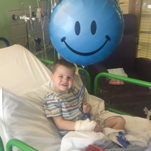 Parents of boy born with half a heart back charity's Pyjama Party campaign