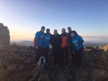 Dad and friends complete national Three Peaks Challenge in just 27 hours to thank The Sick Children's Trust