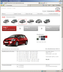 Toyota startar prenumeration på internet