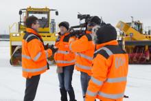 CNN på vinterbesøk hos Oslo Lufthavn