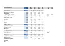 Detaljerad investeringsbudget 2019-2023