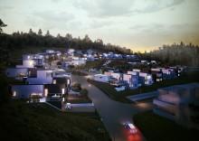 Veidekke bygger 250 bostäder vid Hills golfbana i Mölndal