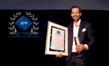 Erikssons Glas i Norrköping AB utses till Årets företag i glasbranschen