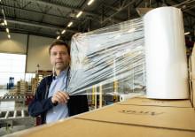Tynnere plast reduserer bruken med 3,5 tonn