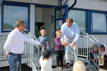 Karlavagnen - ny förskola invigd i Svenstavik i dag 2014-08-28