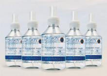 Äntligen på den svenska marknaden: OXISKIN™ (väteperoxid 3%) effektivt vid sårrengöring, är långtidsverkande och samtidigt snäll mot kropp och miljö.
