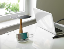 Solcellsträd för tablets och telefoner