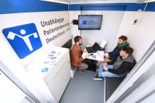 Beratungsmobil der Unabhängigen Patientenberatung kommt am 4. August nach Regensburg.