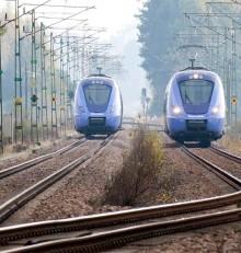 På måndag 5 oktober går tågen åter som vanligt på Skånebanan